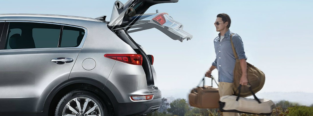 2017 sportage smart liftgate o